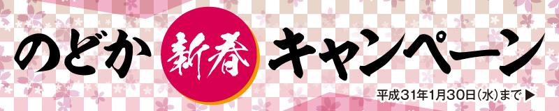 のどか新春キャンペーン 和泉市