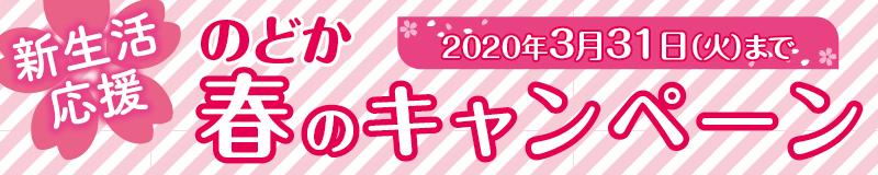 のどか春のキャンペーン 和泉市